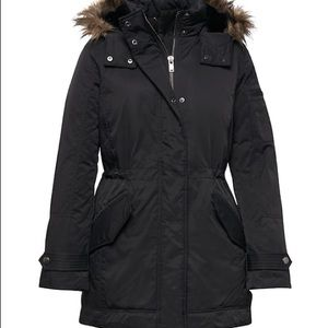 Banana Republic Water Resistant Down Parka Coat
